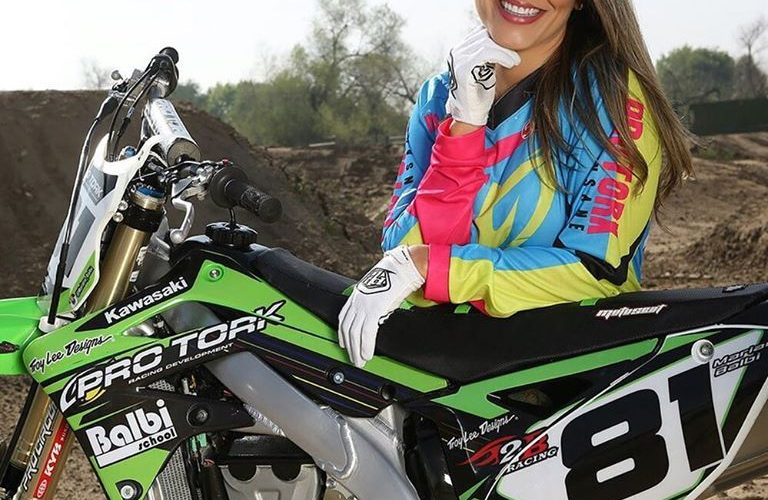Mariana Balbi es latinoamérica en el Mundial de Motocross Femenino