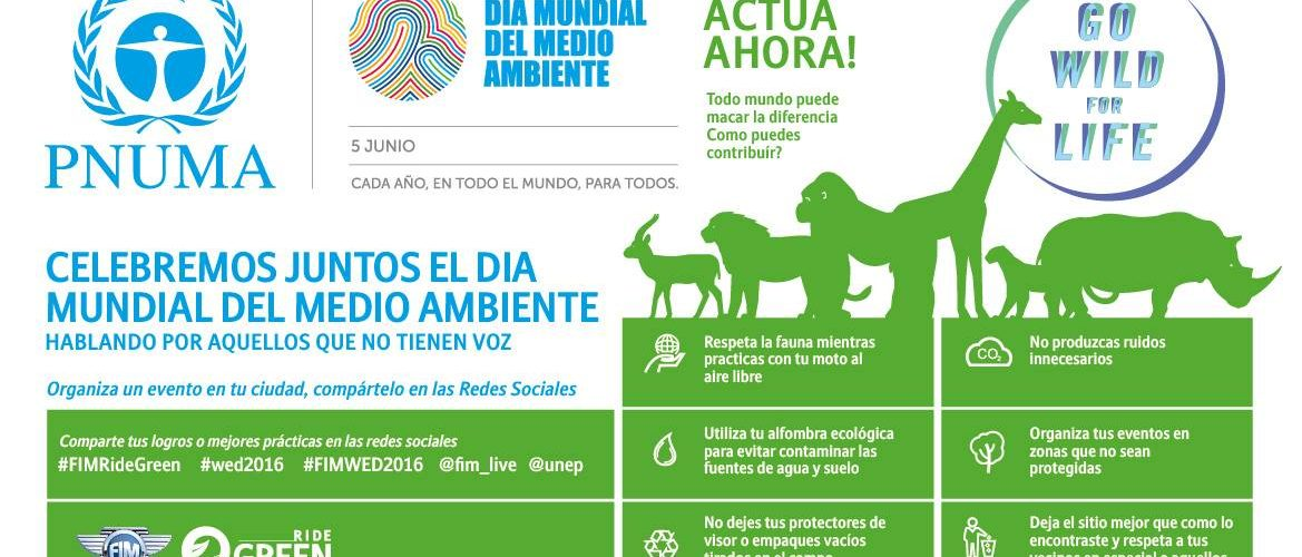 Junio 5 – Día Mundial del Medio Ambiente 2016
