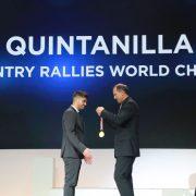 Noche de gala de la FIM para Pablo Quintanilla