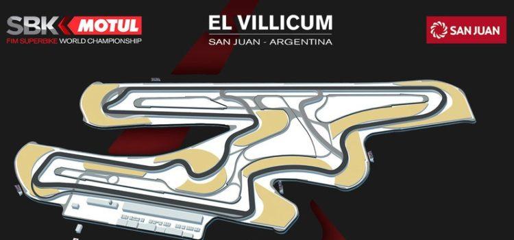Argentina Recibe al WorldSBK en octubre. -El Villicum confirmado como Circuito 2018-