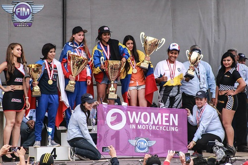 Campeonatos Lationamericanos de Motocross Femenino (WMX) y Clase 85cc, México 2018.