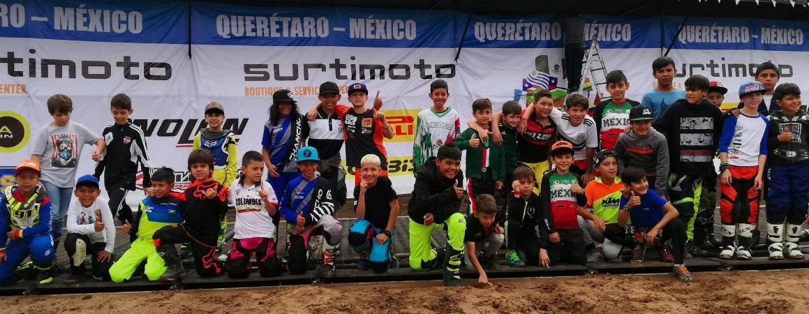 México y Colombia, Campeones de la Copa FIM Latinoamericana de Minicross México-2018