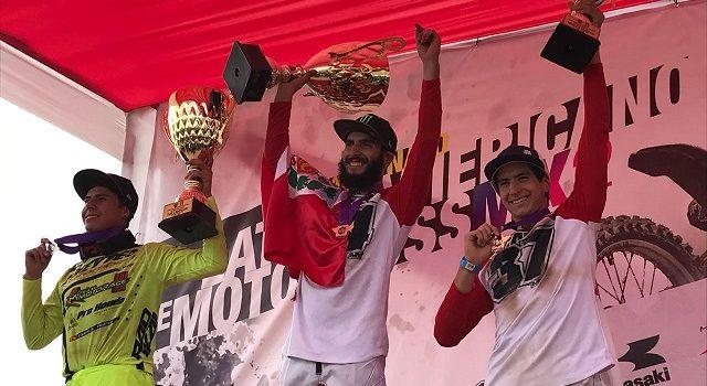 Ian Salazar (Perú) Campeón Latinoamericano de MX2 2018