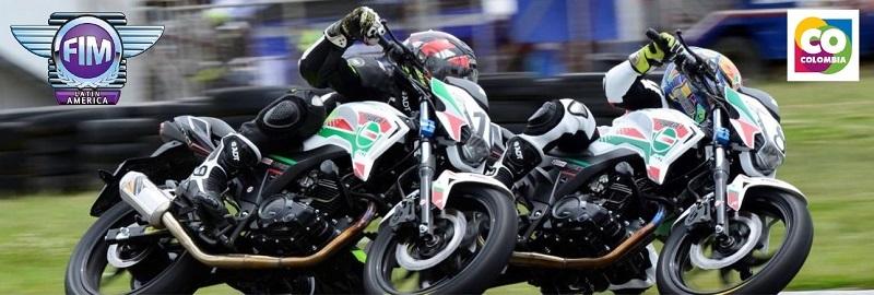 Campeonato Latinoamericano CCR Monomarca Juvenil, Popayán – Colombia, 28 al 30 de Septiembre 2018.