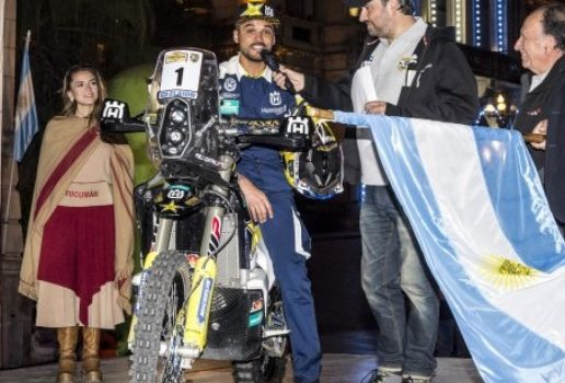 Pablo Quintanilla (Chile) Nuevo Lider del FIM Cross-Country Rallies World Championship