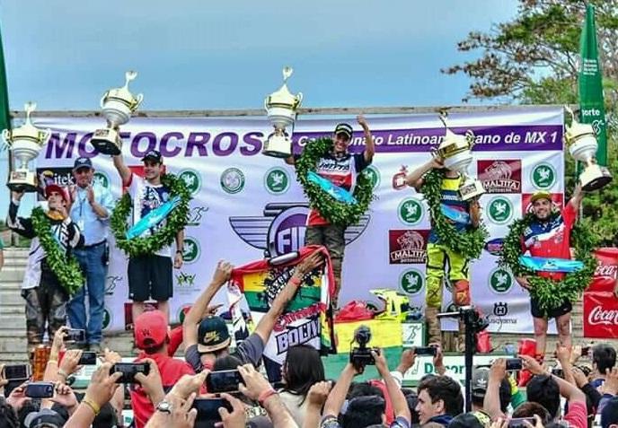 Marco Antezana (Bolivia) Campeón Latinoamericano de MX1 2018