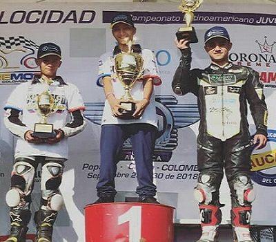 Felipe Serna (Colombia) Campeón Latinoamericano CCR Juvenil 2018
