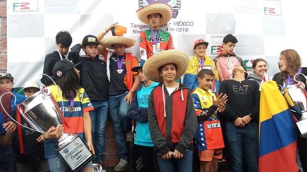Jamie Astudillo (Ecuador) y Gael Ruiz (México) Campeones del Latinoamericano de Motocross WMX/85cc 2018