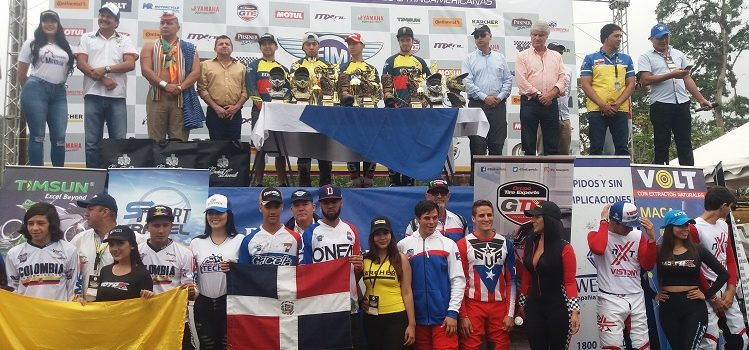 Motocross de Naciones Latinoamericanas 2018: República Dominicana Campeón!