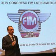Pedro Venturo elegido presidente de FIM LATIN AMERICA 2019-2022