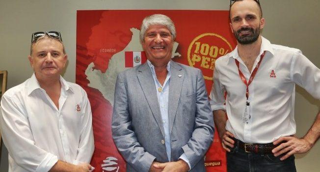 Jorge Viegas, presidente de la FIM, al inicio del Rally Dakar 2019
