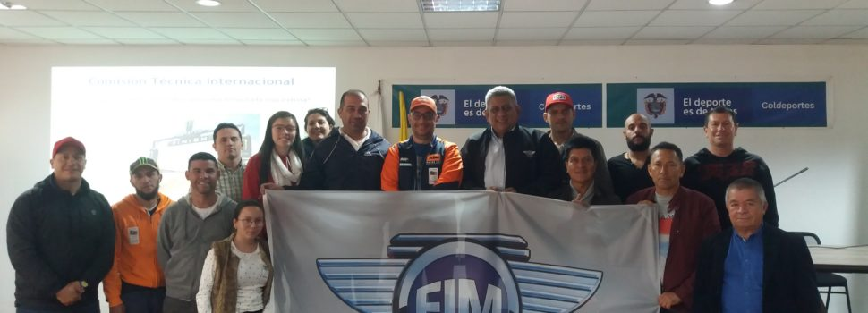 SEMINARIO PARA COMISARIOS TÉCNICOS FIM LATIN AMERICA 2019 Bogotá – Colombia