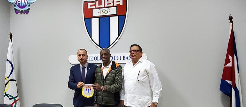 VISITA A CUBA, SEGUNDO DÍA DE ACTIVIDAD.