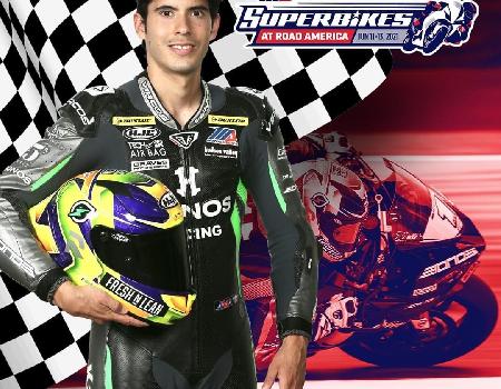 Supersport 2021 nuevo triunfo: Richie Escalante.