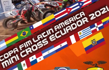 Copa FIM Latin America Minicross Ecuador 2021.